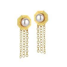 MEME LONDON Tasha earrings - gold *18k gold plated*, rrp:£120