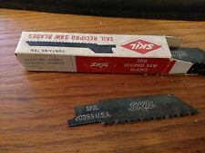 Vintage SKIL Recipro Saw pack of 10 4 inch blades Multi purpose 20355 6 TPI