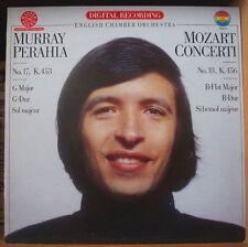 MURRAY PERAHIA MOZART CONCERTI HOLLAND PRESS  LP CBS MASTERWORKS 1981
