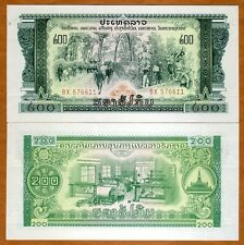 Lao / Laos, 200 Kip, ND Pick 23Aa, UNC > Pathet Government