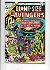 Giant-Size Avengers #2 November 1974 Death of The Swordsman Rama-Tut origin