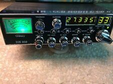 galaxy 959, GREEN with mild tune, mosfet finals,tuned aligned with echo,CB RADIO