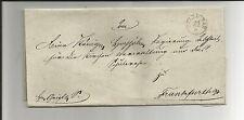 Preussen V. / ZÜLLICHAU Fingerh.-K1 auf Kabinett-Brief