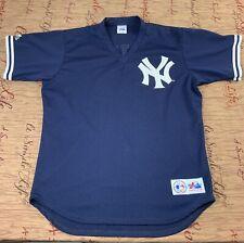 Vintage Majestic New York Yankess Tino Martinez Baseball Jersey Size Large
