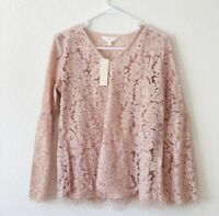🌸NWT top Lace ADIVA Anthropologie size S 🌸