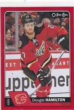 DOUGIE HAMILTON 2016-17 16-17 OPC O-PEE-CHEE RED PARALLEL #471 FLAMES !