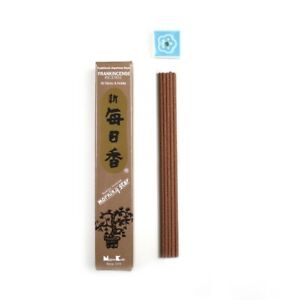 Morning Star Japanese Incense Sticks Frankincense 50 Sticks & holder