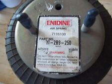UNUSED ENIDINE YI-2B9-250 DOUBLE CONVOLUTED BELLOWS RUBBER AIR SPRING 7116108