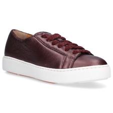 RRP £380 Size UK 7 Trainers Shoes Ladies Leather Purple Santoni  **LAST PAIR**