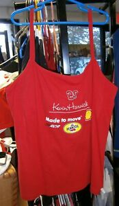 CHASE #29 LADIES SHELL PENNZOIL STRAPPY TANK TOP SHIRT KEVIN HARVICK SMALL NWT