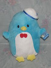 "2014 Sanrio Fiesta Hello Kitty Tuxedo Sam Penguin Sailor Hat Plush 13"" w/ Tag"