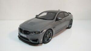 1:18 GT SPIRIT BMW M4 CS GRAY COUPE GT832 RESIN CARS