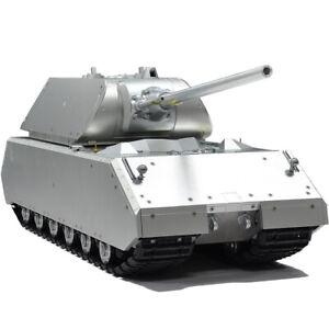 HOOBEN RC Tank German Full Metal Super Heavy Panzerkampfwagen Panzer VIII Maus