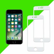 "2x 3D Panzerglas für iPhone 7 4,7"" Displayschutz Folie komplett 9H Full Cover"