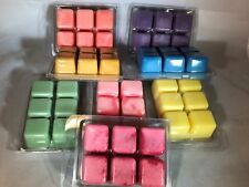 2  TAHITIAN WATERFALL* Triple Scent Soy Wax NOOPYS Candle Melts Tarts Clam Shell