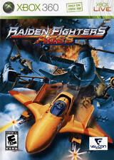 Raiden Fighters Aces (Microsoft Xbox 360, 2009) Complete! Rare