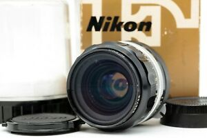 【Near MINT Boxed】 Nikon NIKKOR O.C Auto 35mm f/2 Wide Angle MF Lens non-Ai JAPAN