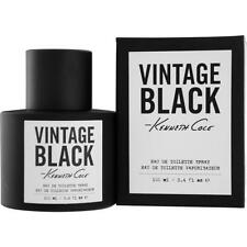 VINTAGE BLACK by Kenneth Cole 3.4 oz edt 3.3 MEN Cologne New in BOX