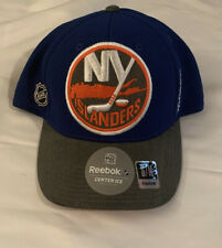 Mens New York Islanders Reebok Center Ice NHL Official Flex Cap Hat NWT S/M
