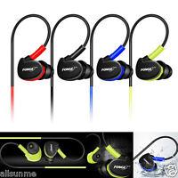Waterproof Earphones In Ear Earbuds HIFI Sport Headphones Bass Headset