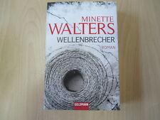 Minette Walters - WELLENBRECHER - TB - Goldmann - (23887)