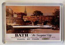 Bath Vintage Travel Poster Fridge Magnet