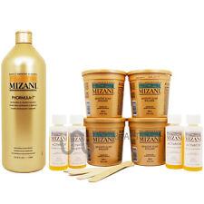 Mizani Sensitive Scalp Relaxer 4 Kit +Phormula 7 Shampoo /w Roll-on Body Oil