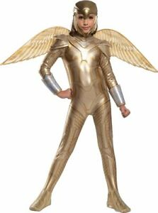 Wonder Woman 1984 - Gold Armored Wonder Woman - Child Deluxe Costume
