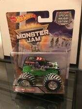 HOT WHEELS MONSTER JAM - GRAVE DIGGER - SPECIAL HOLIDAY EDITION! - 25 YEAR