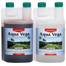 Canna Aqua Vega A+B 2x1 Lt Fertilizzanti Crescita per Coltivazione Idroponica