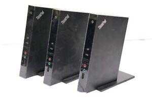 3x Lenovo M01060 ThinkPad USB Port Replicator