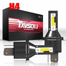 2pcs H4 Car LED Headlamp Headlight 26000LM 6000K 110W Kit Conversion Bright Bulb