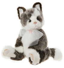 Rodders by Charlie Bears - collectable jointed plush cat kitten teddy - CB202050