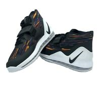 NEW NIKE AIR FORCE MAX MEN'S BASKETBALL SHOES WHITE BLACK MULTICOLOR AR0974-100