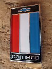 NOS 1975-77 Chevy Camaro Z/28 RS SS rear deck trunk name badge emblem GM#1739100