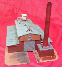 N Scale - Brewery Building an old (BUILT) kit from the 70's  LOT# CC