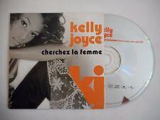 KELLY JOYCE : CHERCHEZ LA FEMME ♦ CD SINGLE PORT GRATUIT ♦