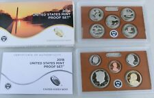 EE. UU. us Mint proof set 2018