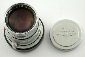 LEICA Summicron M 2/50 rigid starr 50 50mm F2 1513657 1957 Anwender user