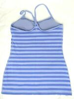 Lululemon 8 Power Y Tank Lavender Stripe Luon