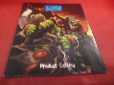Blizzard Entertainment Promotionl Product Catalog / World of Warcraft III Poster