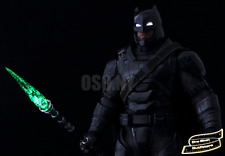 IN STOCK 1/6 Kryptonite Spear LED Light Up USA Batman Superman Justice Toys Hot