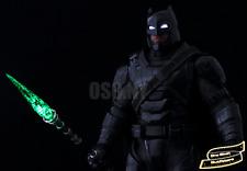 PREORDER 1/6 Kryptonite Spear LED Light Up USA Batman Superman Justice Toys Hot