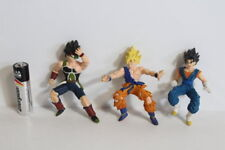 Lot of 3 Goku Gohan Bardock Dragon Ball Z Gashapon Figure HG Japan Import