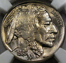 1935 Buffalo Nickel Gem BU NGC MS-65... A real Blazer with Lots of Eye Appeal!