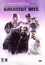 THREE 6 MAFIA 8BALL MJG 50 MUSIC VIDEOS RAP HIP HOP YO GOTTI UGK RICK ROSS BUN B