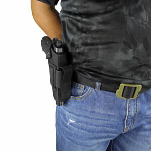 OWB Nylon Pistol Gun Holster with Mag Pouch For Kimber Micro 9