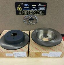 TOYOTA GENUINE OEM NEW 2001-2003 4WD HIGHLANDER REAR DISC BRAKE ROTORS qty 2