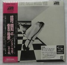 Yes-time and a Word Japan mini lp SHM CD