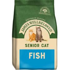 James Wellbeloved Cat Senior Fish Turkey 1.5KG 4KG Dry Kibble Biscuit Meat Pouch